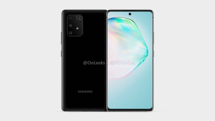 Samsung Galaxy A91 Render Leak2