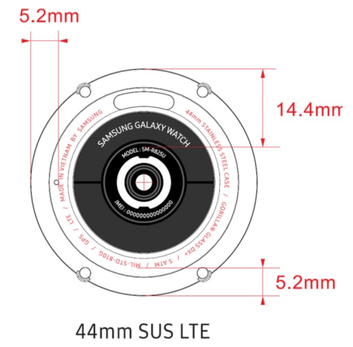 Samsung Galaxy Watch 2020 Fcc