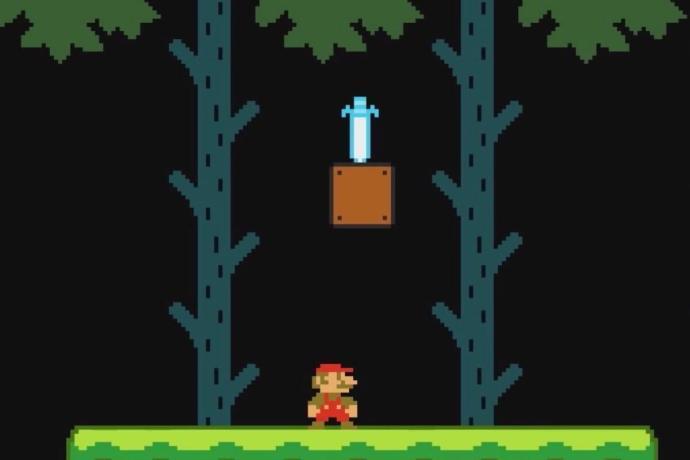Super Mario Maker Zelda Schwert