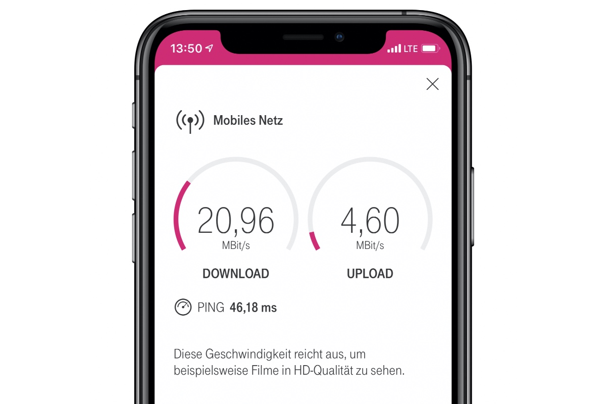 Telekom Speedtest Magenta