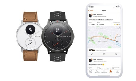 Withings Health Strava