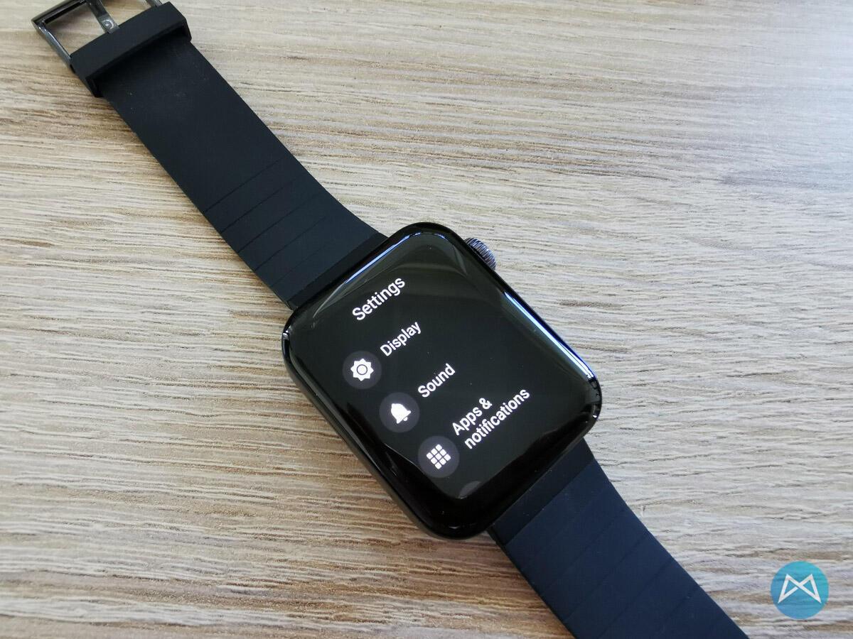 Xiaomi Wear 3100 Menu