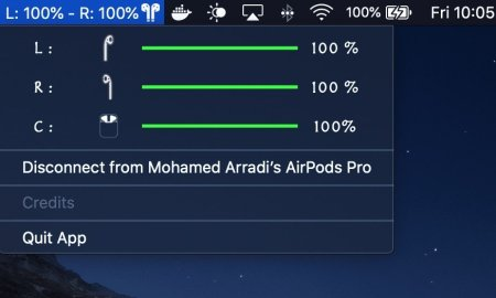 Airpods Battery Monitor