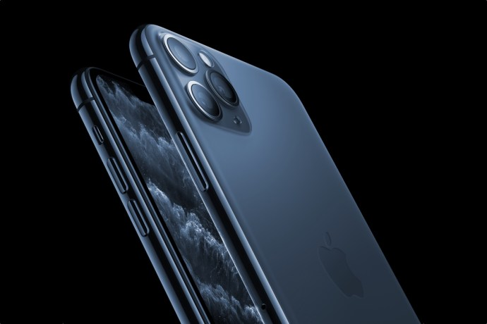 The Apple Iphone Is The 11 Pro-Blue