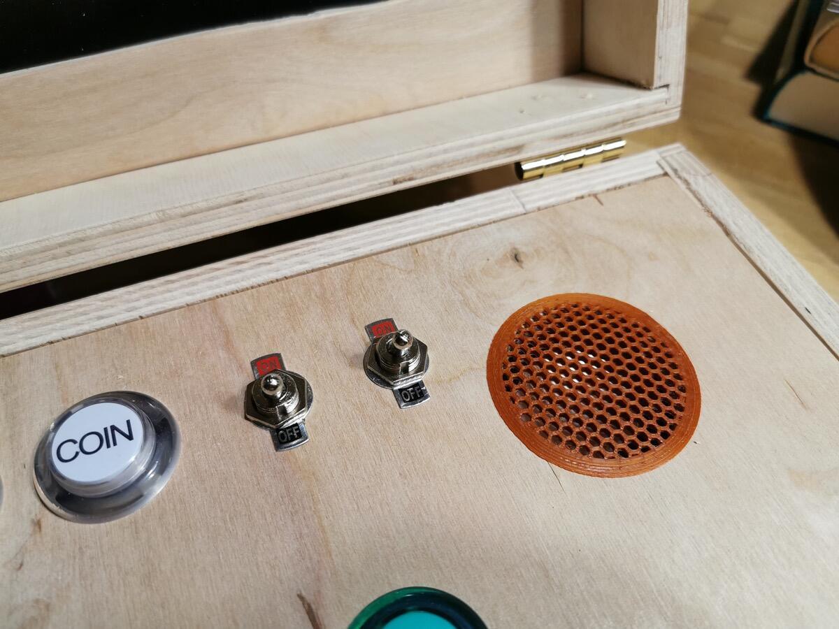 Gamebox Stromwippen
