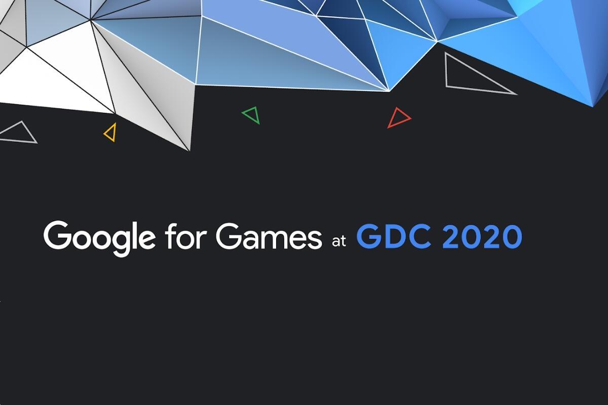 Google Gdc 2020