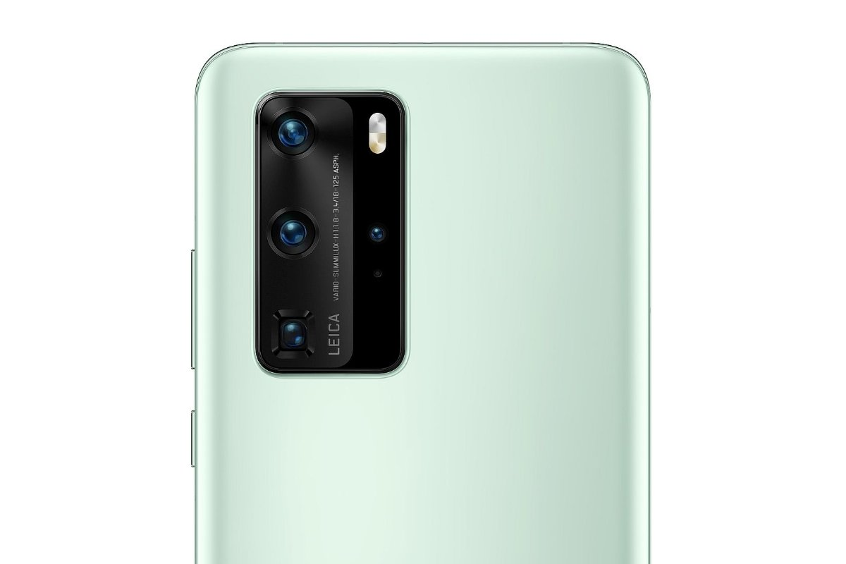 Huawei P40 Pro Mint Green Header