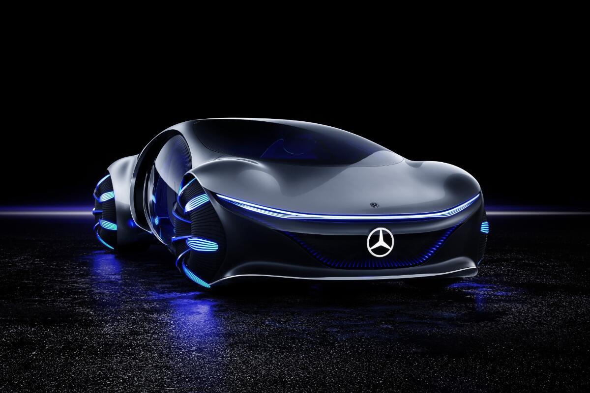 Mercedes Benz Vision Avtr Header
