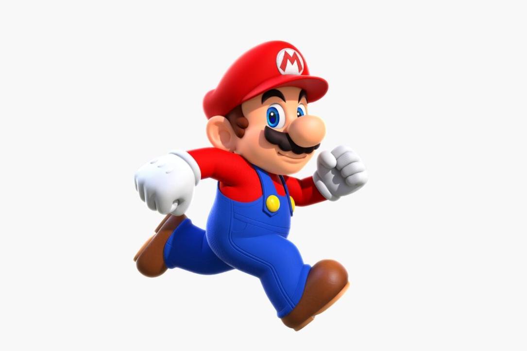 Nintendo Super Mario Header