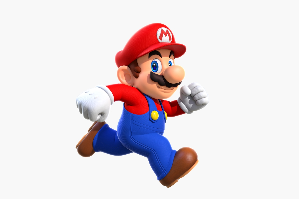 Nintendo Super Mario Header