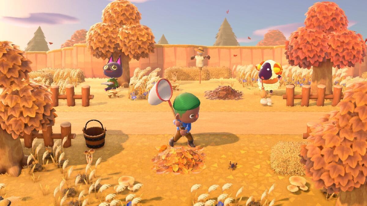 Nintendo Switch Animal Crossing Screen1