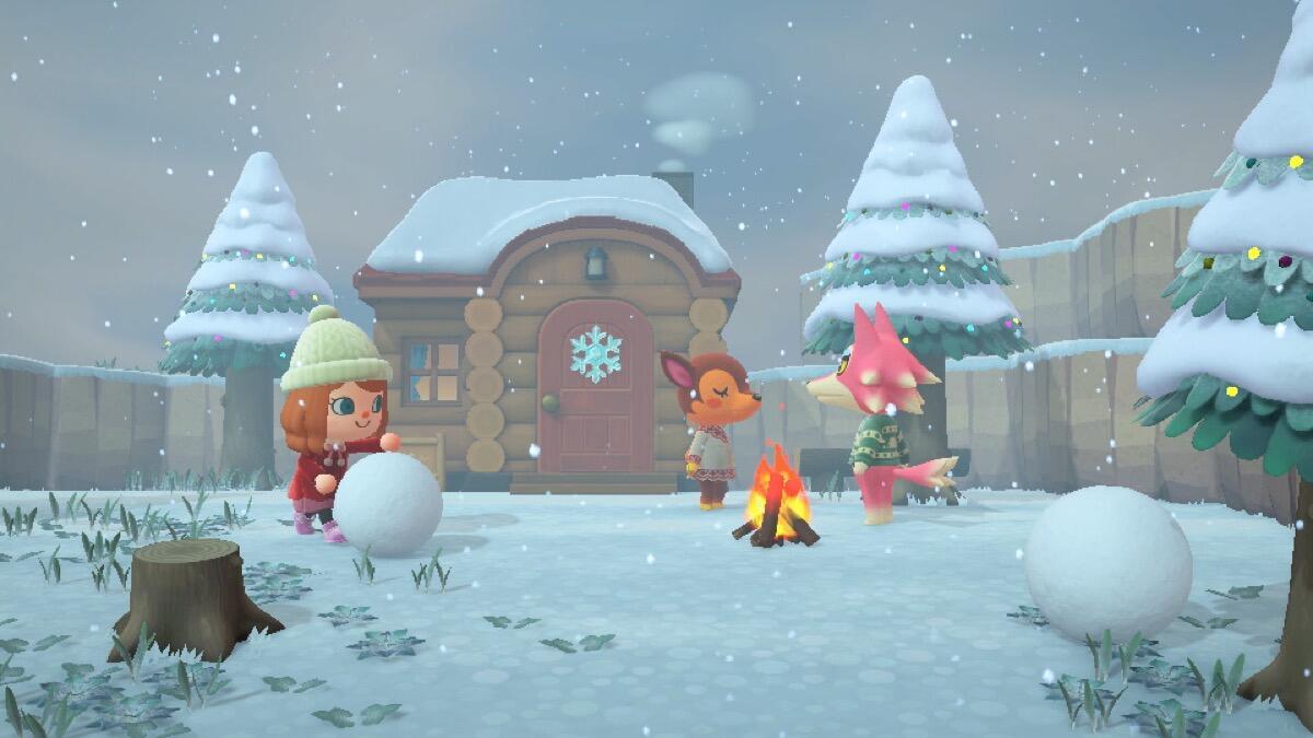 Nintendo Switch Animal Crossing Screen2