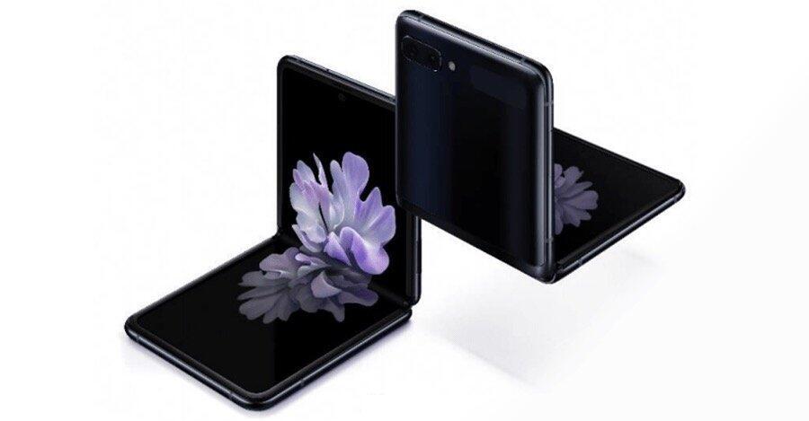 Samsung Galaxy Z Flip Leak Schwarz