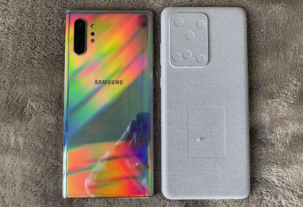 Samsung Note S20 Vergleich