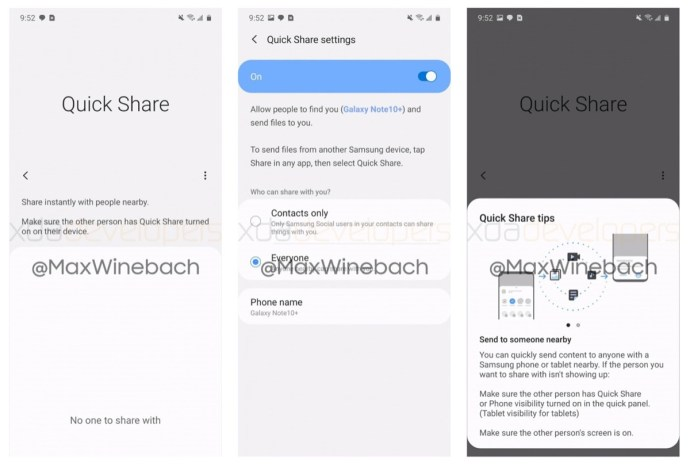 Samsung Quick Share
