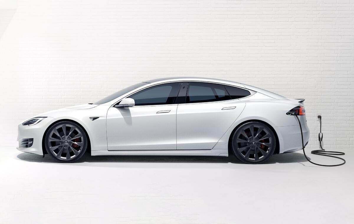 Tesla Model S Charger Header