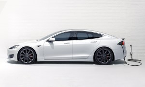 Tesla Model S Charger Header