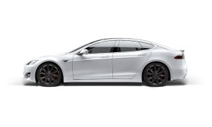 Tesla Model S White Header