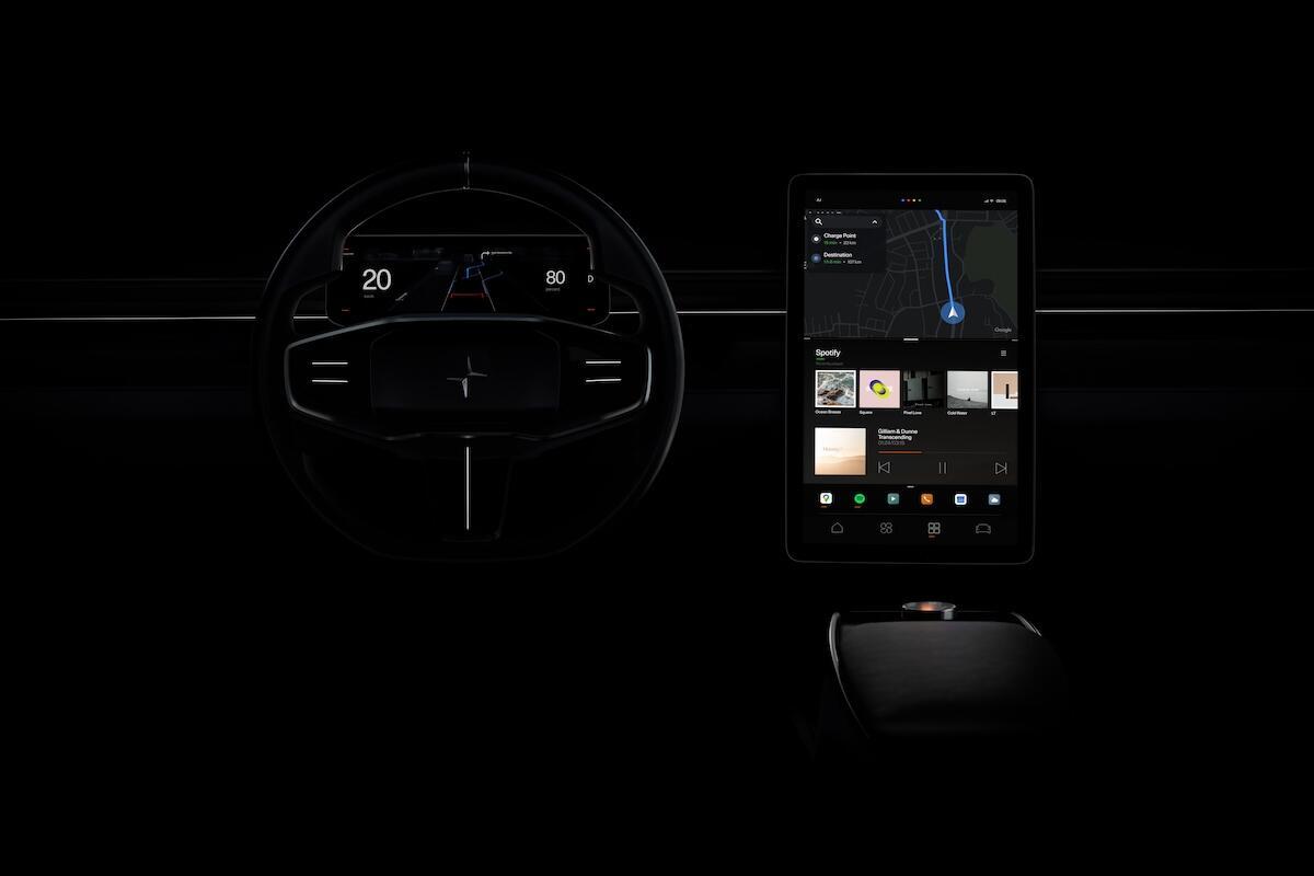 Android Auto Polestar Vision2