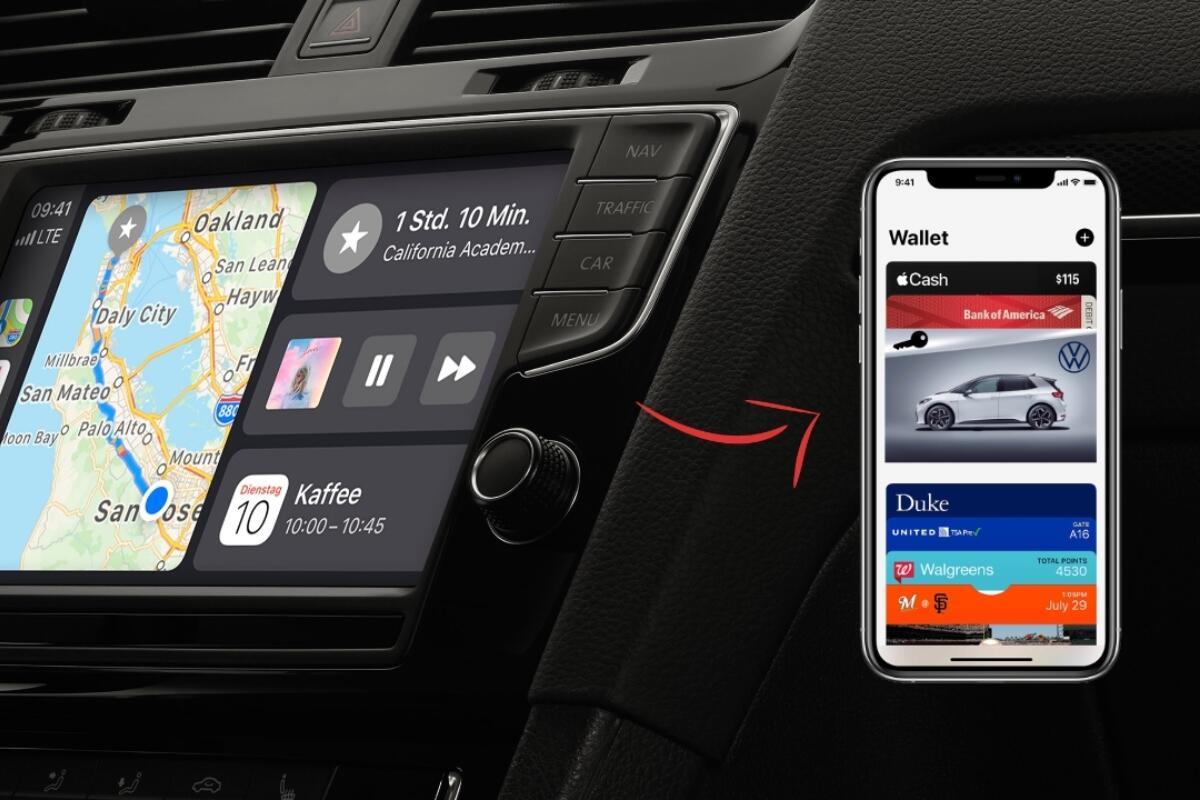Apple CarKey: Das iPhone als digitaler Autoschlüssel
