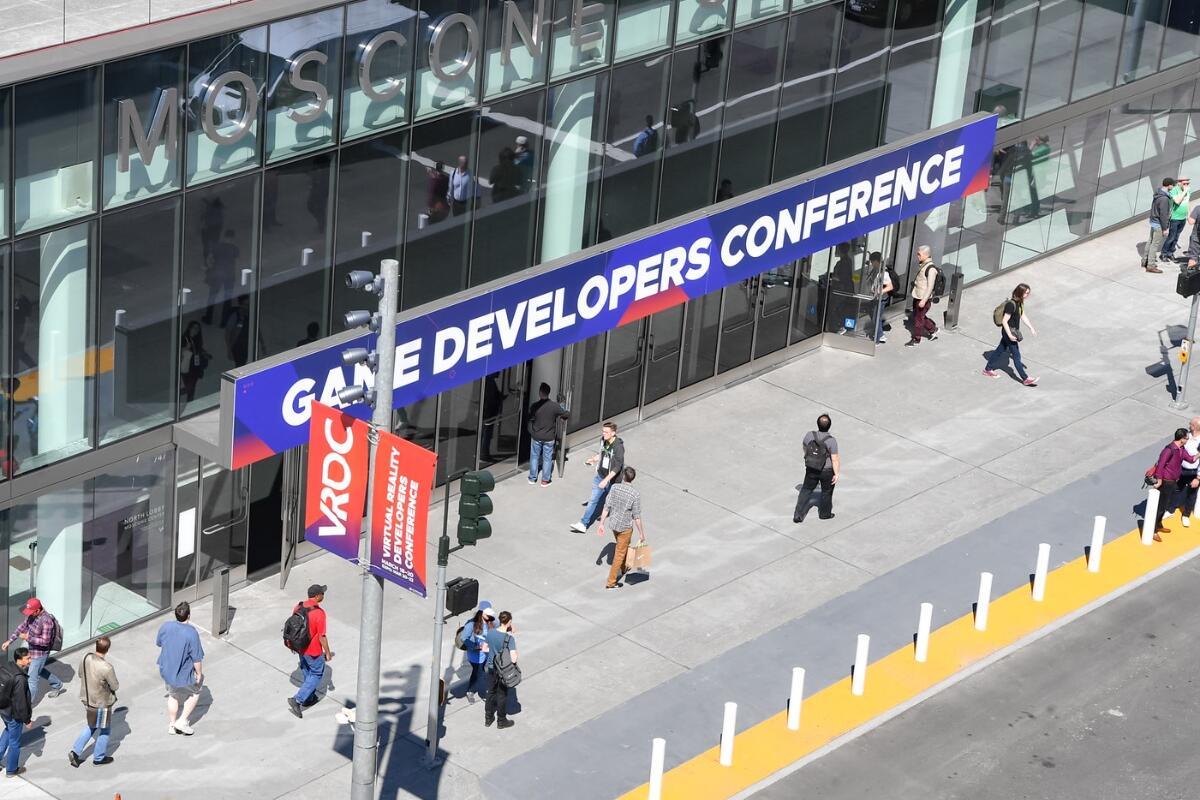Gdc Game Developer Conference Header