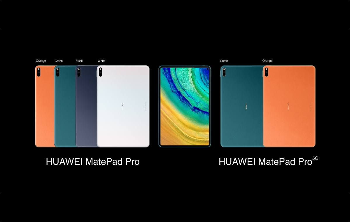 Huawei Matepad Pro Header