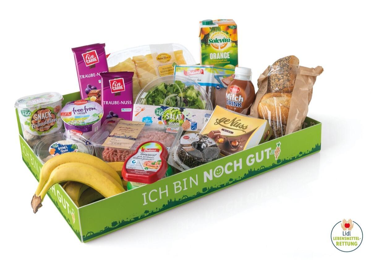 Lidl Ich Bin Noch Gut Box Lebensmittelrettung