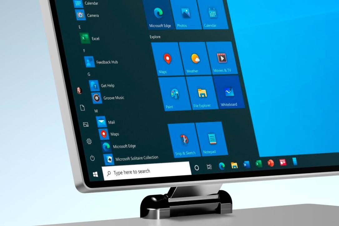 Microsoft Windows Surface Header