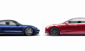 Porsche Tesla Header