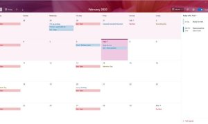 Preview The New Calendar App On Windows 10
