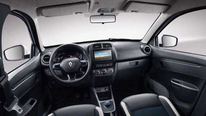 Renault City K Ze Interieur