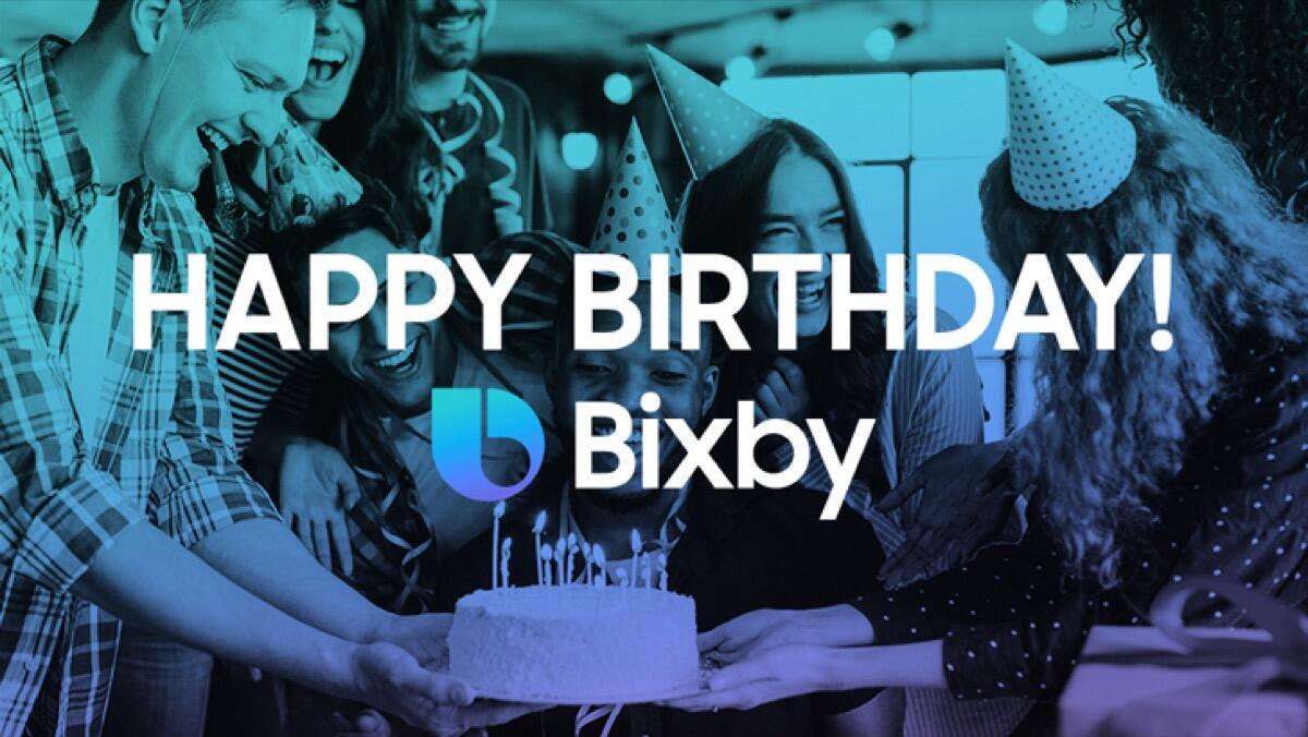 Samsung feiert Bixby-Geburtstag