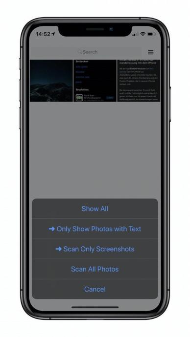 Screenshot Hero Screen