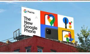 Google Pixel 4a Billboard