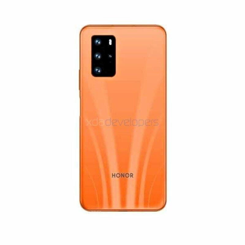 Honor 30s Orange
