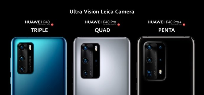 Huawei P40 Lineup Kameras