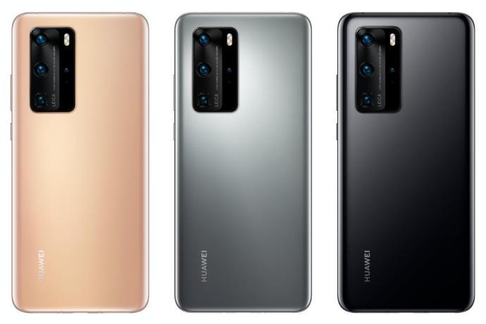 Huawei P40 Pro Farben