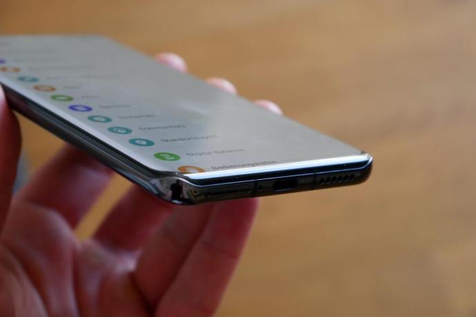 Huawei P40 Pro Kante