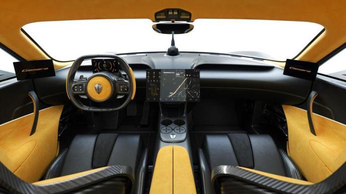 Koenigsegg Gemera Innenraum