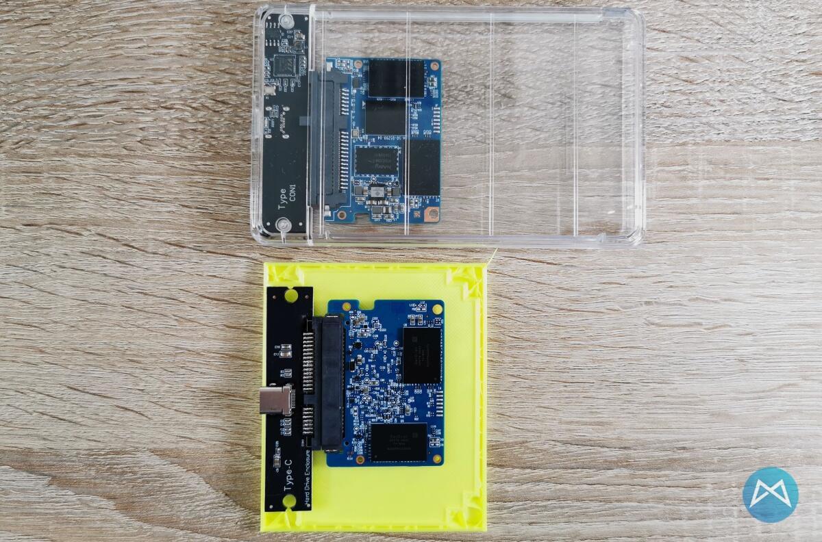 Mini Ssd Case Erster Entwurf
