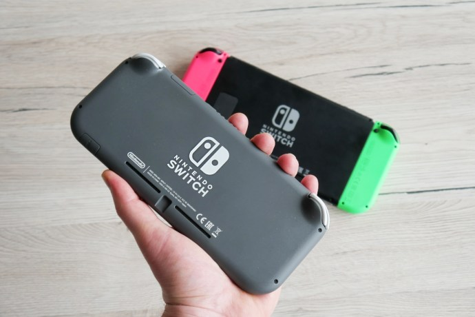 Nintendo Switch Lite Hand Header