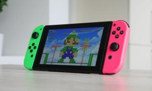 Nintendo Switch Mario Maker Header