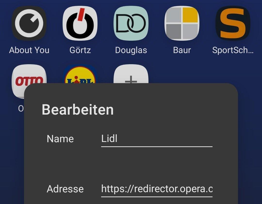 Opera Lesezeichen Aff Link