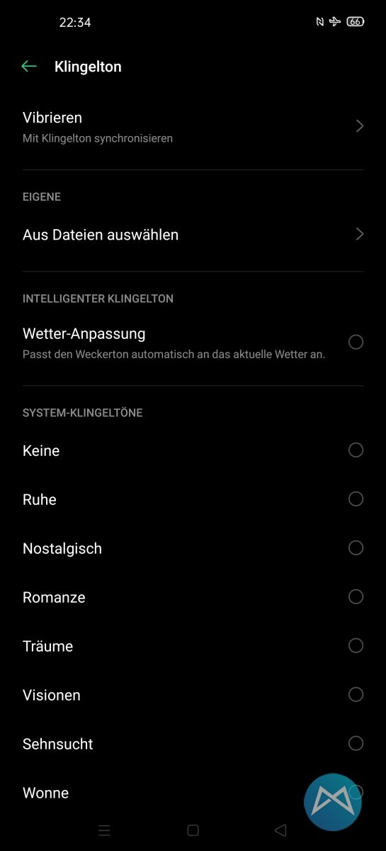 Oppo Find X2 Pro Klingeltoene