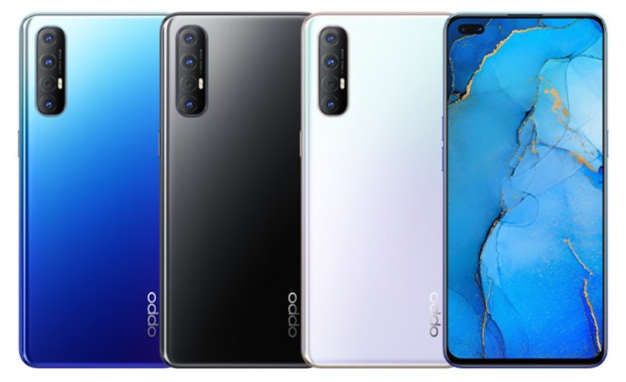 Oppo Reno 3 Pro Farben