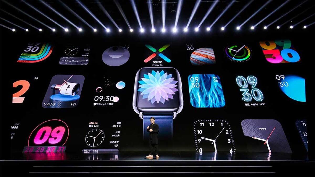 Oppo Watch Designs