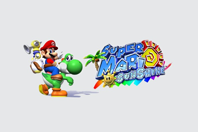Super Mario Sunshine Header