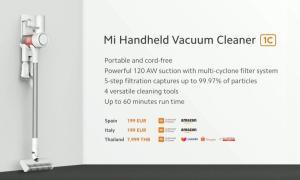 Xiaomi Mi Handheld Vacuum Cleaner 1c Specs