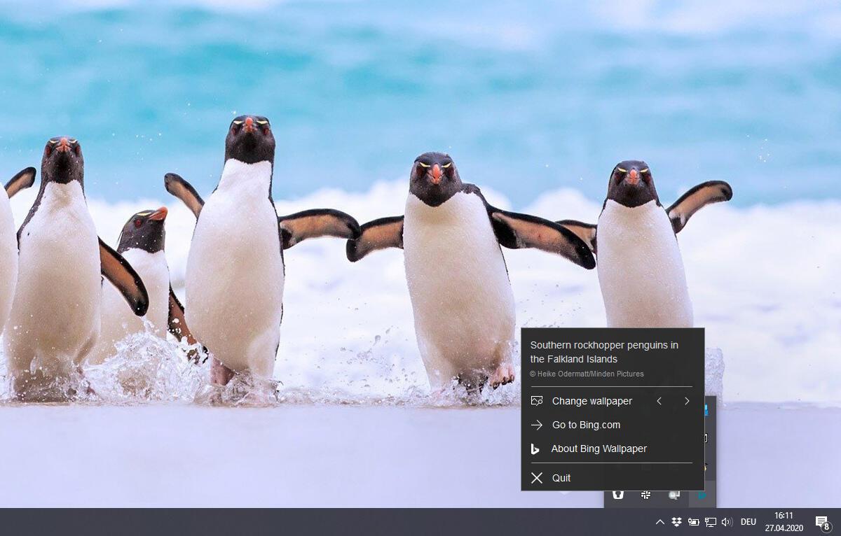 Bing Wallpaper App