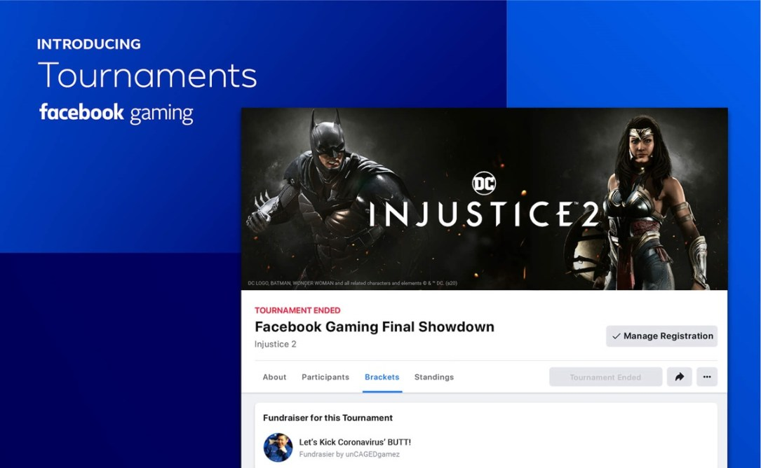 Facebook Gaming Tournaments Header